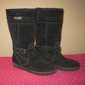 Coach Black Suede Boots sz. 8